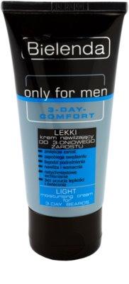 Bielenda Only for Men 3-Day Comfort легкий зволожуючий крем Для заспокоєння шкіри