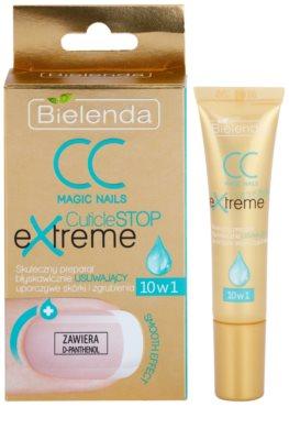 Bielenda CC Magic Nails CuticuleSTOP Extreme gel concentrat pentru catifelare cuticula 1