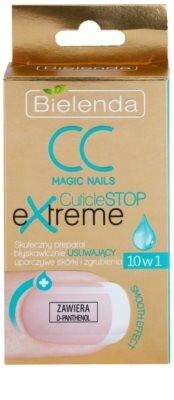 Bielenda CC Magic Nails CuticuleSTOP Extreme gel concentrat pentru catifelare cuticula 2