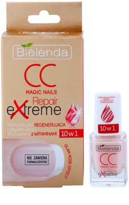 Bielenda CC Magic Nails Repair Extreme sérum na nehty s vitamíny 1