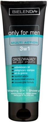 Bielenda Only for Men Multi Action osvěžující sprchový gel 3 v 1