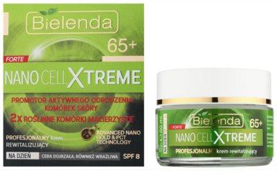 Bielenda Nano Cell Xtreme 65+ денний відновлюючий крем SPF 8 1