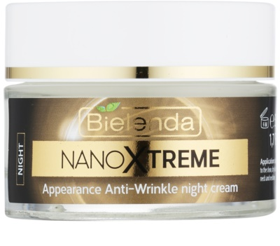 Bielenda Nano Cell Xtreme creme de noite antirrugas
