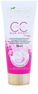 Bielenda Optic Control Blur Effect CC krém na tělo  pro rozjasňení a hydrataci