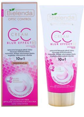 Bielenda Optic Control Blur Effect CC creme de corpo para iluminação e hidratação 1