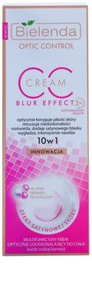 Bielenda Optic Control Blur Effect CC creme de corpo para iluminação e hidratação 2
