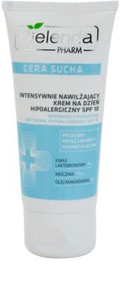 Bielenda Pharm Dry Skin intensive feuchtigkeitsspendende Creme zur Stärkung der Hautbarriere SPF 10
