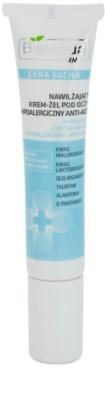 Bielenda Pharm Dry Skin creme de olhos gelatinoso antirrugas