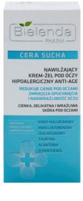 Bielenda Pharm Dry Skin creme de olhos gelatinoso antirrugas 2