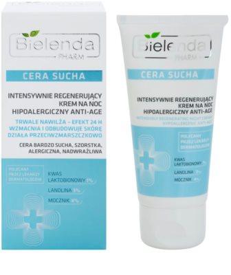 Bielenda Pharm Dry Skin Nachtcreme mit intensivem regenerierenden Effekt gegen Falten 1