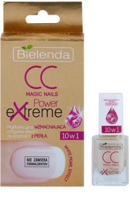Bielenda CC Magic Nails Power Extreme sérum fortificante para unhas 1