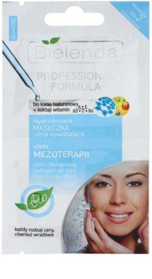 Bielenda Professional Formula máscara gelatinosa hidratante