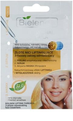Bielenda Professional Formula peeling, sérum e máscara restauração intensiva e esticamento da pele