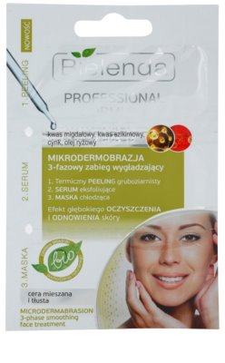 Bielenda Professional Formula piling, serum in maska za mastno k aknam nagnjeno kožo