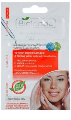 Bielenda Professional Formula Peeling, Serum und Maske für Haut mit kleinen Makeln