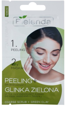 Bielenda Professional Formula пілінг та маска для жирної шкіри