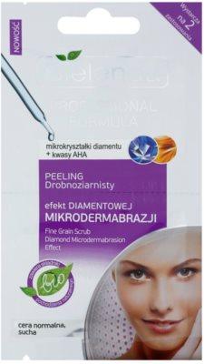Bielenda Professional Formula sanftes Peeling-Gel für normale und trockene Haut