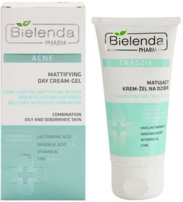 Bielenda Pharm Acne Tages-Gelcreme mit mattierendem Effekt 1