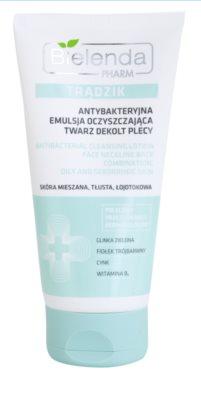 Bielenda Pharm Acne antibakteriální čisticí gel na obličej, dekolt a záda proti akné