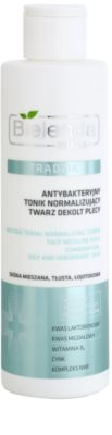 Bielenda Pharm Acne antibakterielles Reinigungswasser für Gesicht, Dekolleté und Rücken ohne Alkohol