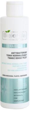 Bielenda Pharm Acne антибактеріальна очищуюча вода для обличчя, області декольте та спини без алкоголя