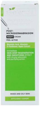 Bielenda Professional Home Expert Peel Active нічний крем для шкіри висушеної та подразненої лікуванням акне 2