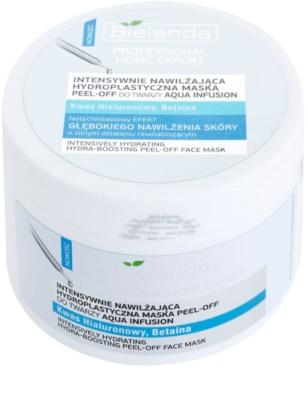 Bielenda Professional Home Expert Aqua Infusion masca hidratanta peel-off pudra