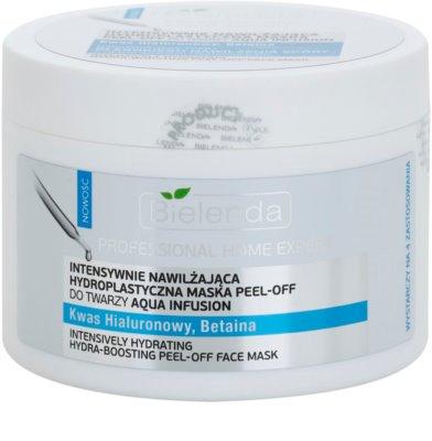 Bielenda Professional Home Expert Aqua Infusion vlažilna luščilna maska v prahu 1
