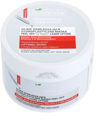 Bielenda Professional Home Expert Laser Lifting intensive Maske zum Abziehen in Pulverform mit Lifting-Effekt