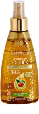 Bielenda Precious Oil  Avocado óleo nutritivo para rosto, corpo e cabelo