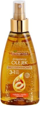 Bielenda Precious Oil  Peach pěsticí olej na tvář, tělo a vlasy