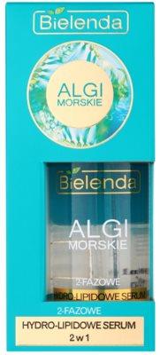 Bielenda Sea Algae Hydro-Lipid 2fázové sérum proti stárnutí pleti 1