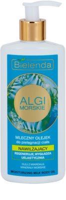 Bielenda Sea Algae Moisturizing mléčný tělový olej s vyhlazujícím efektem