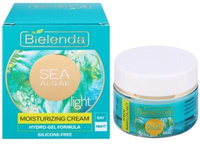 Bielenda Sea Algae Moisturizing creme geloso suave hidratante 1