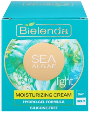 Bielenda Sea Algae Moisturizing creme geloso suave hidratante 2