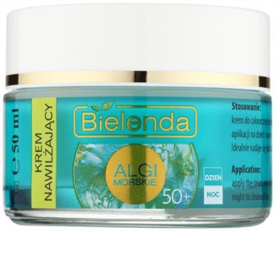 Bielenda Sea Algae Moisturizing крем проти зморшок 50+