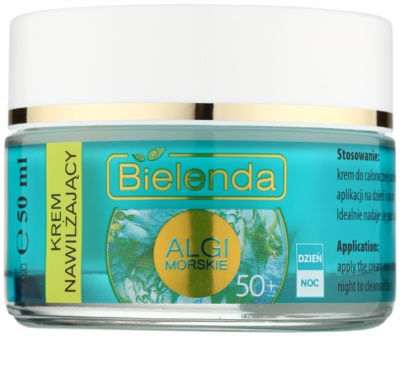 Bielenda Sea Algae Moisturizing Anti-Faltencreme 50+