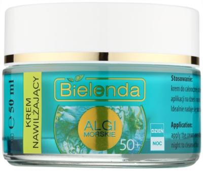 Bielenda Sea Algae Moisturizing crema anti-rid 50+