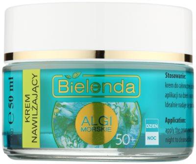 Bielenda Sea Algae Moisturizing protivráskový krém 50+