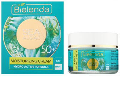 Bielenda Sea Algae Moisturizing Anti-Faltencreme 50+ 1