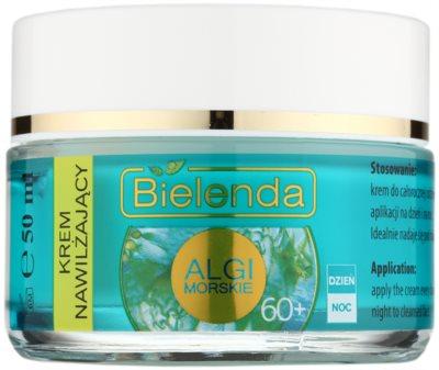 Bielenda Sea Algae Moisturizing Creme gegen tiefe Falten 60+