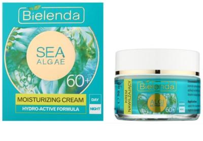 Bielenda Sea Algae Moisturizing Creme gegen tiefe Falten 60+ 1
