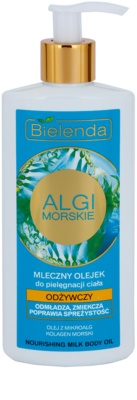 Bielenda Sea Algae Nourishing Öl Milch für den Körper mit festigender Wirkung