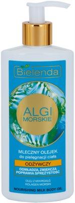 Bielenda Sea Algae Nourishing молочна олійка для тіла зі зміцнюючим ефектом