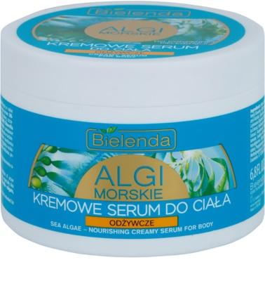 Bielenda Sea Algae Nourishing Creme-Serum für den Körper für die Festigung der  Haut