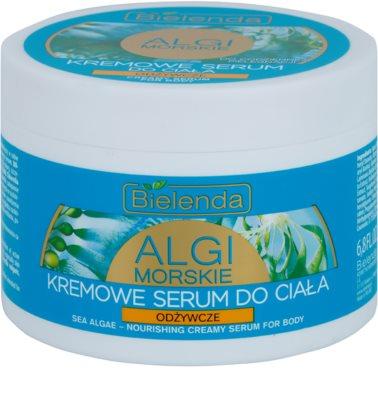 Bielenda Sea Algae Nourishing krémové sérum na tělo pro zpevnění pokožky