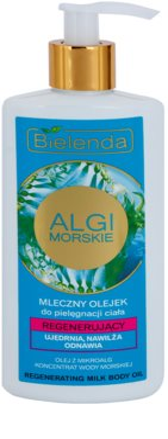 Bielenda Sea Algae Regeneration óleo corporal leitoso para refirmação de pele