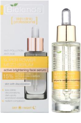 Bielenda Skin Clinic Professional Brightening активна сироватка для сяючої шкіри 1