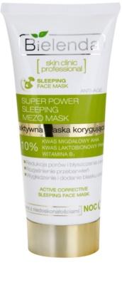 Bielenda Skin Clinic Professional Correcting máscara de noite para pele com imperfeições