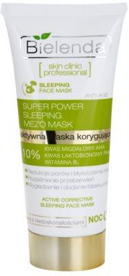 Bielenda Skin Clinic Professional Correcting Maske für die Nacht für Haut mit kleinen Makeln